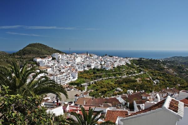 Etappenziel einer Andalusien Rundreise: Frigiliana