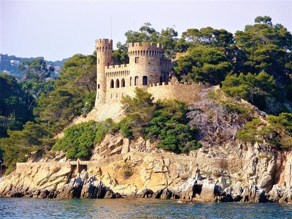 Sehenswürdigkeit in Lloret de Mar: Die Burg Sant Joan