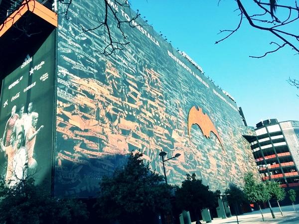 Stadion Mestalla in Valencia