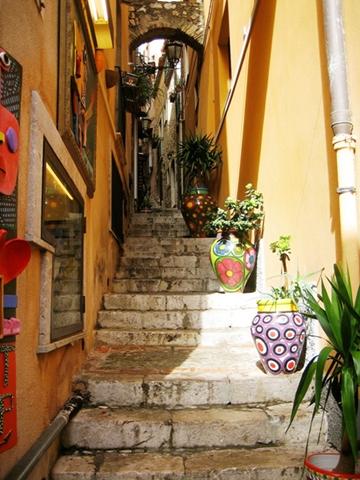 Die Altstadt von Torremolinos