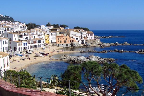 Urlaub Costa Brava in calella de palafrugell