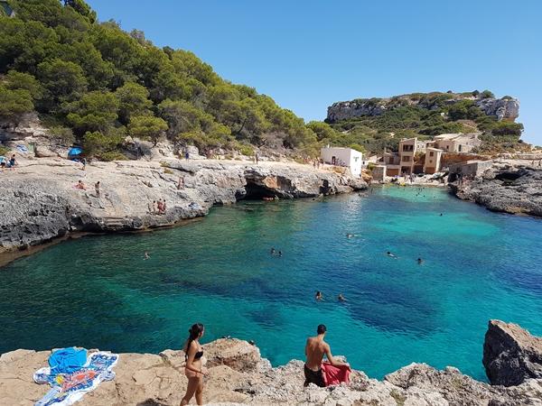 Cala S'Almunia Mallorca bei Cala Figuera