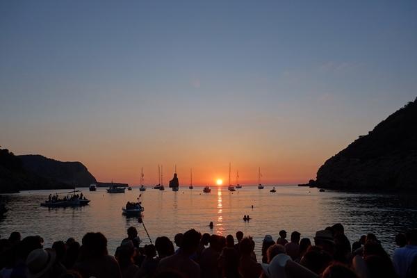Ibiza - Cala Benirras Sonnenuntergang