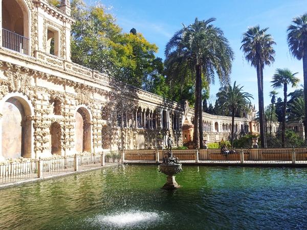 Königspalast Sevilla El Alcazar