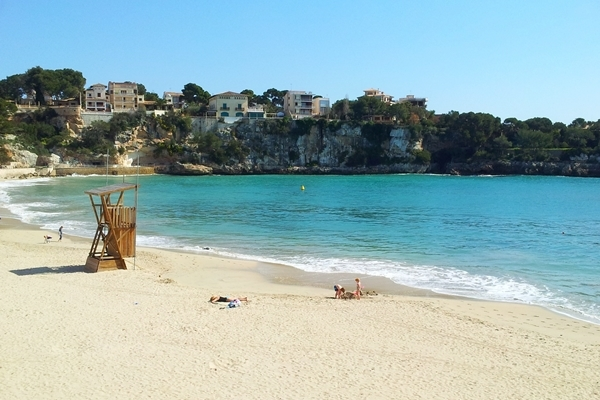 Strand von Porto Cristo bei Cala Romantica