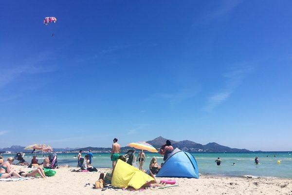 Urlaub in Alcudia, Playa de Muro