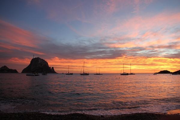 Es Vedra vor der Südwestküste Ibiza