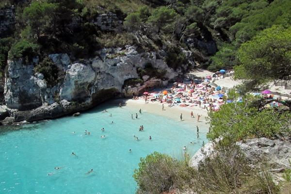 Menorca, schöne Strände