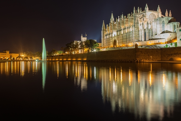 Sehenwürdigkeiten in Palma: Kathedrale La Seu