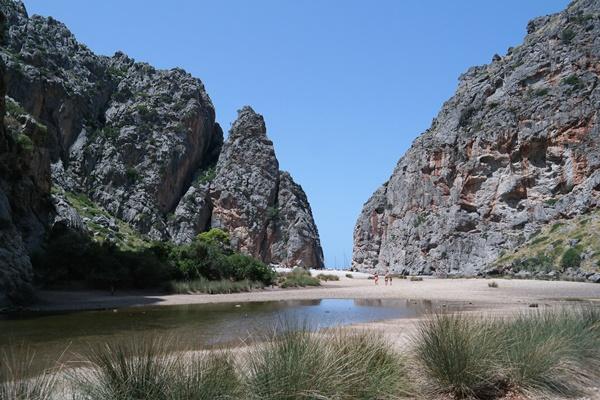 Ausflugsziel in der Serra Tramuntana: Sa Calobra