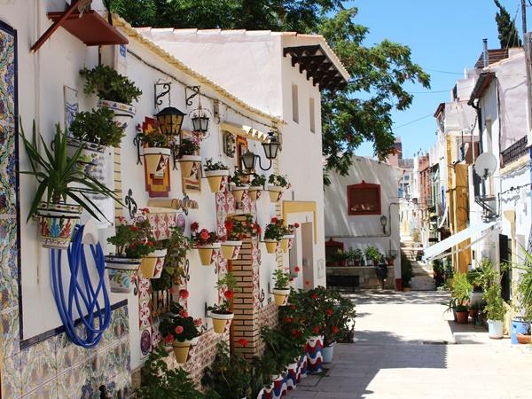Sehenswürdigkeiten in Alicante: Das Altstadtviertel Barrio Santa Cruz