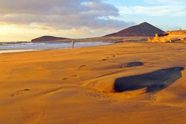 Strand von El Medano auf Teneriffa