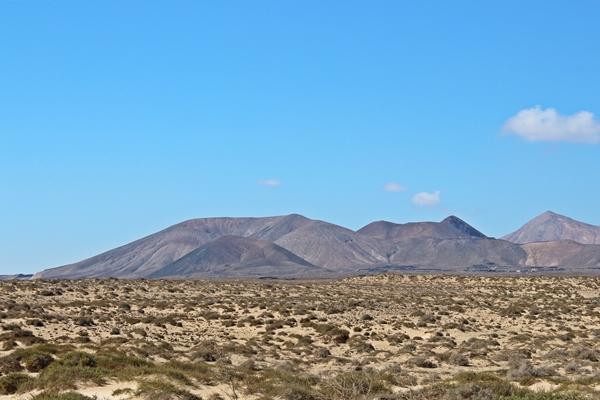 Sehenswürdigkeiten: auf Fuerteventura: Vulkanlandschaften