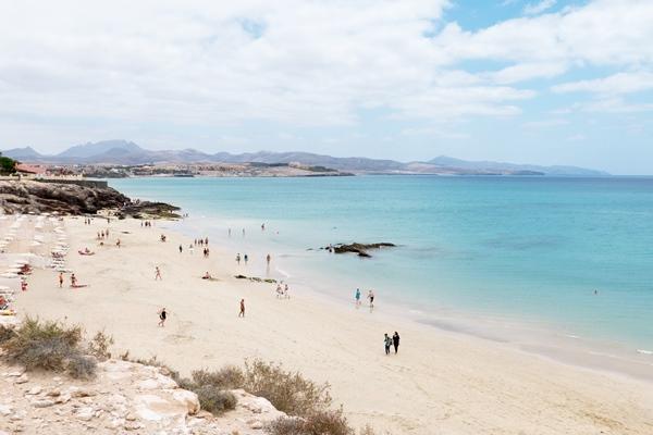 Strand an der Costa Calma