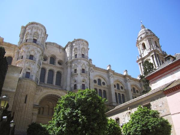 Malaga-Sehenswürdigkeiten: die Kathedrale von Malaga