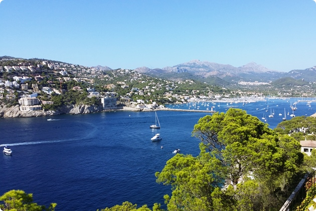 Ausflugsziel in der Umgebung von Palma: Port d'Andratx